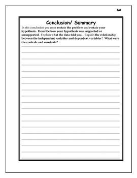 Science Lab - Blank Form