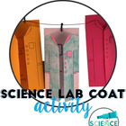 Science Lab Coat First Day of School Activity