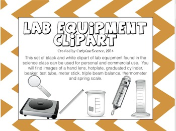 Science Lab Equipment Clipart