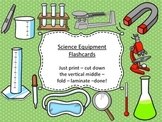 Science Lab Equipment Flash Cards