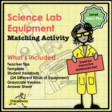 Science Lab Equipment Match - Basic Plus Level