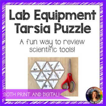 Science Lab Equipment Puzzle