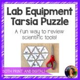 Science Lab Equipment Tarsia Puzzle