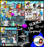 Science Lab Equipment clip art- 109 graphics!