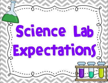 Science Lab Expectation Posters