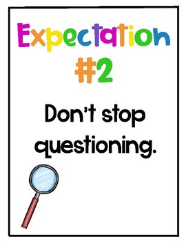 Science Lab Expectations