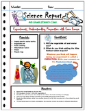 Science Lab Experiment Sheet