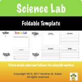 Science Lab Foldable Template