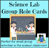 Science Lab Group Role Cards