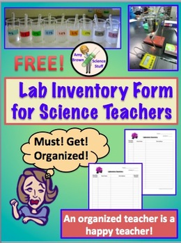 Science Lab Inventory Form