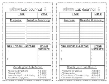 Science Lab Journal