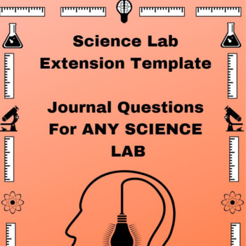 Science Lab Journal Template Questions That Extend
