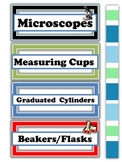 Science Lab Labels