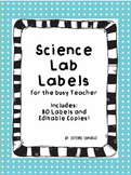 Science Lab Labels 5th Grade