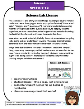 Science Lab License - It Will Change Your Life!