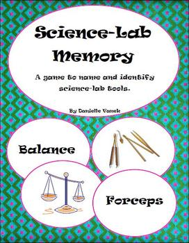 Science-Lab Memory: A Game to Name and Identify Science Lab Tools