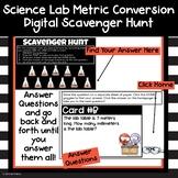 Science Lab Metric Conversion  Review Scavenger Hunt