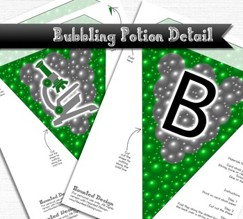 Science Lab Printable PDF Banner