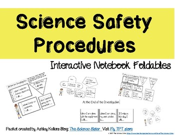 Science Lab Procedures Interactive Notebook Foldables
