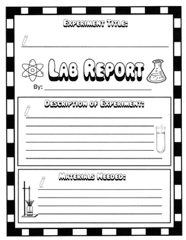 Science Lab Report