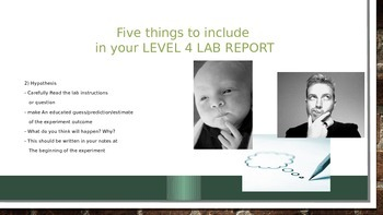 Science Lab Success Pack (Powerpoint, Instructions, Rubric)