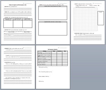 Science Lab Report and Self-Assessment Guide: Lab Reports Simplified