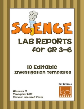 Science Lab Reports for Upper Elementary