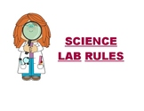 Science Lab Rules ( For poster making)