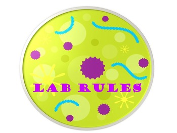 Science Lab Rules Printable Posters