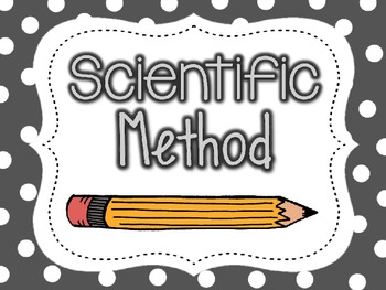 Science Lab Rules, Scientific Method with Experiment