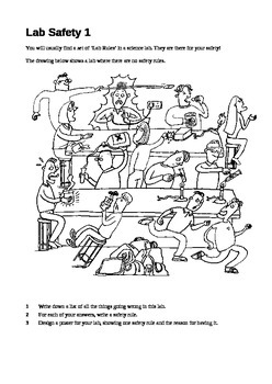 Science - Lab Safety Activity