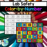 Science Lab Safety Color-by-Number