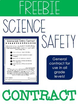 Science Lab Safety Contract