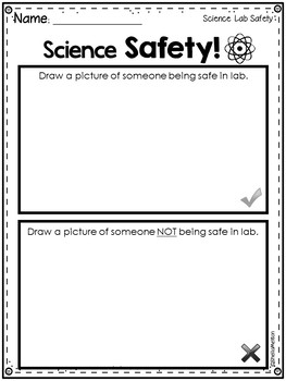 Science Lab Safety Contract FREEBIE!