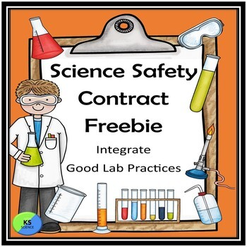 Science Lab Safety Contract Freebie | Back To School Classroom Management