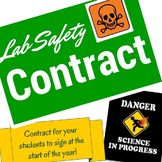 Science Lab Safety Contract MIDDLE SCHOOL and HIGH SCHOOL