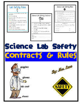 Science Lab Safety Contracts and Rules