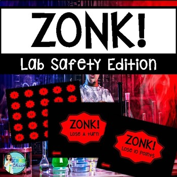 Science Lab Safety Game - Zonk!