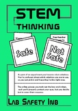 Science Lab Safety Interactive Notebook Foldable Middle School Back to School