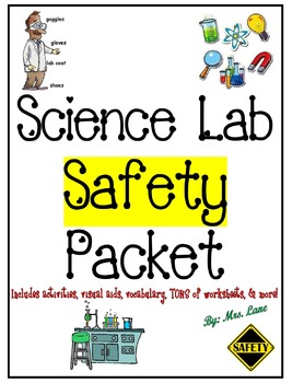 Science Lab Safety Packet (JAM-PACKED!)