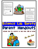 Science Lab Safety Parent Handouts (Help At Home)
