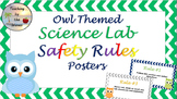 Science Lab Safety Posters