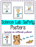 Science Lab Safety Posters (Includes 24 Different Posters!)