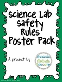 Science Lab Safety Posters for Elementary Students