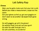 Science Lab Safety Presentation, Quiz, Contract, Excellent Videos
