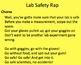 Science Lab Safety Presentation, Quiz, Contract, Excellent Videos