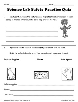 Science Lab Safety Reviews and Assessments