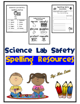 Science Lab Safety Spelling Resources