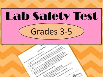 Science Lab Safety Test