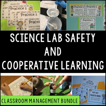 Science Lab Safety and Classroom Management:  Bulletin Boa